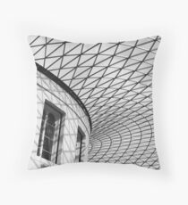 calm repitition Throw Pillow