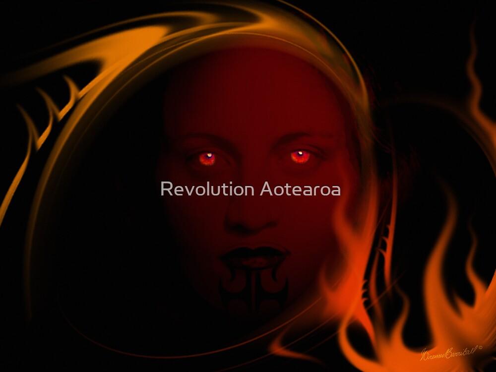 Mahuika - Goddess of Fire by Revolution Aotearoa