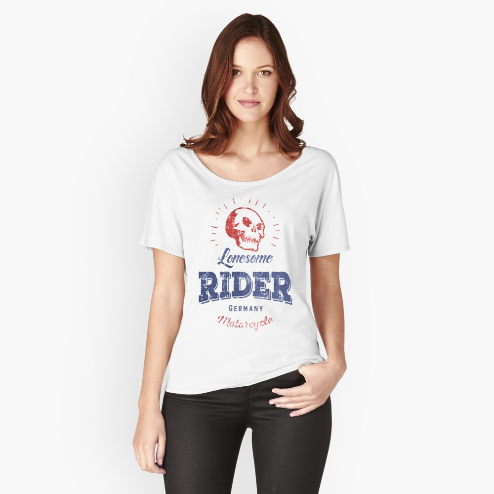 Lonesome Rider Loose Fit T-Shirt