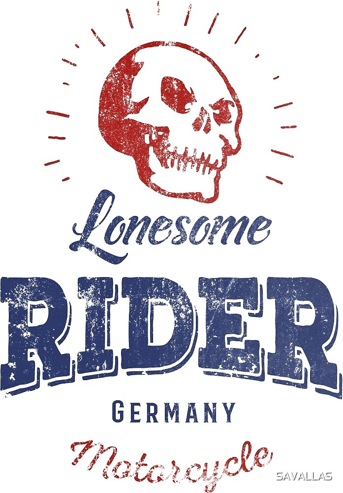 Lonesome Rider von SAVALLAS