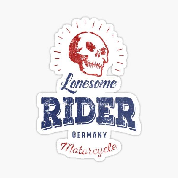 Lonesome Rider Glossy Sticker