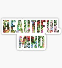 Jon Bellion Beautiful Mind Sticker