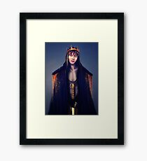 King of hearts Framed Print