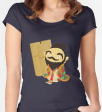 Confucius Women's Fitted Scoop T-Shirt