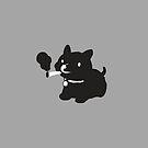 Smoking Doggy by Martin Mejak
