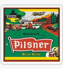 Pilsner Label Sticker