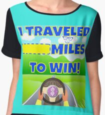 TV Game Show - TPIR (The Price Is...)Miles To Win Women's Chiffon Top