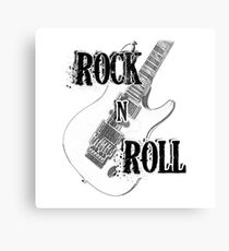 Rock Roll Music  Canvas Print