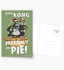 King Kong Merrily On Pie Postcards