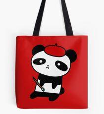 Painter Panda  Tote Bag