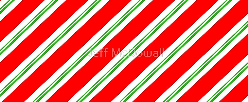 Candy Cane Negative Silhouette On Red Stripes Royalty Free ...