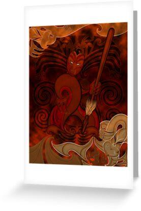 Tumatauenga - God of War by Revolution Aotearoa