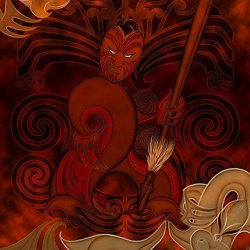Tumatauenga - God of War by Winus
