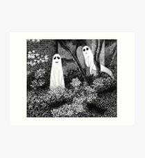 Ghosts wanting friends Art Print