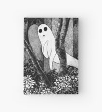 Ghosts wanting friends Hardcover Journal