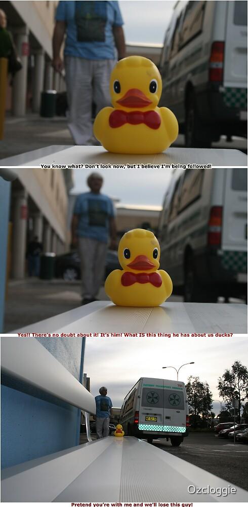Stalked duck by Ozcloggie