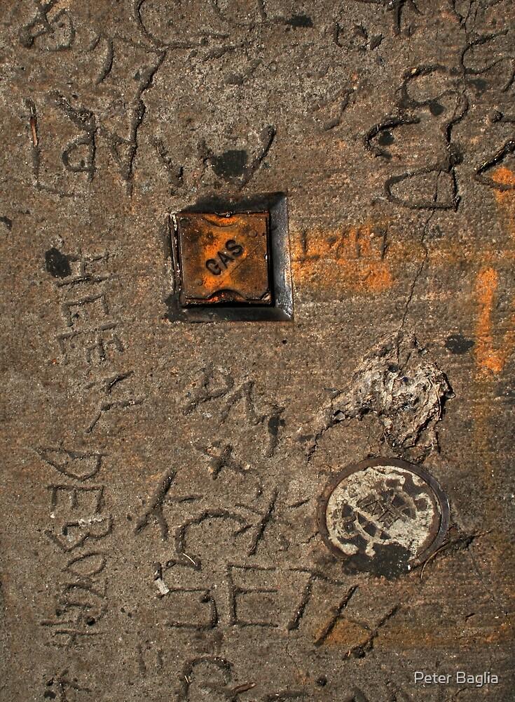 Petrol Glyphs by Peter Baglia