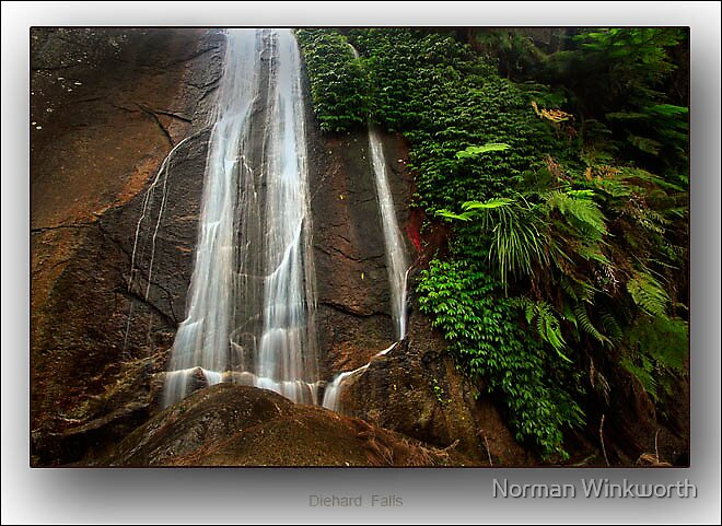 Diehard Falls by Norman Winkworth