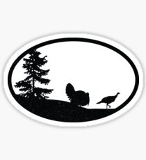 Vintage Turkey Illustration Sticker