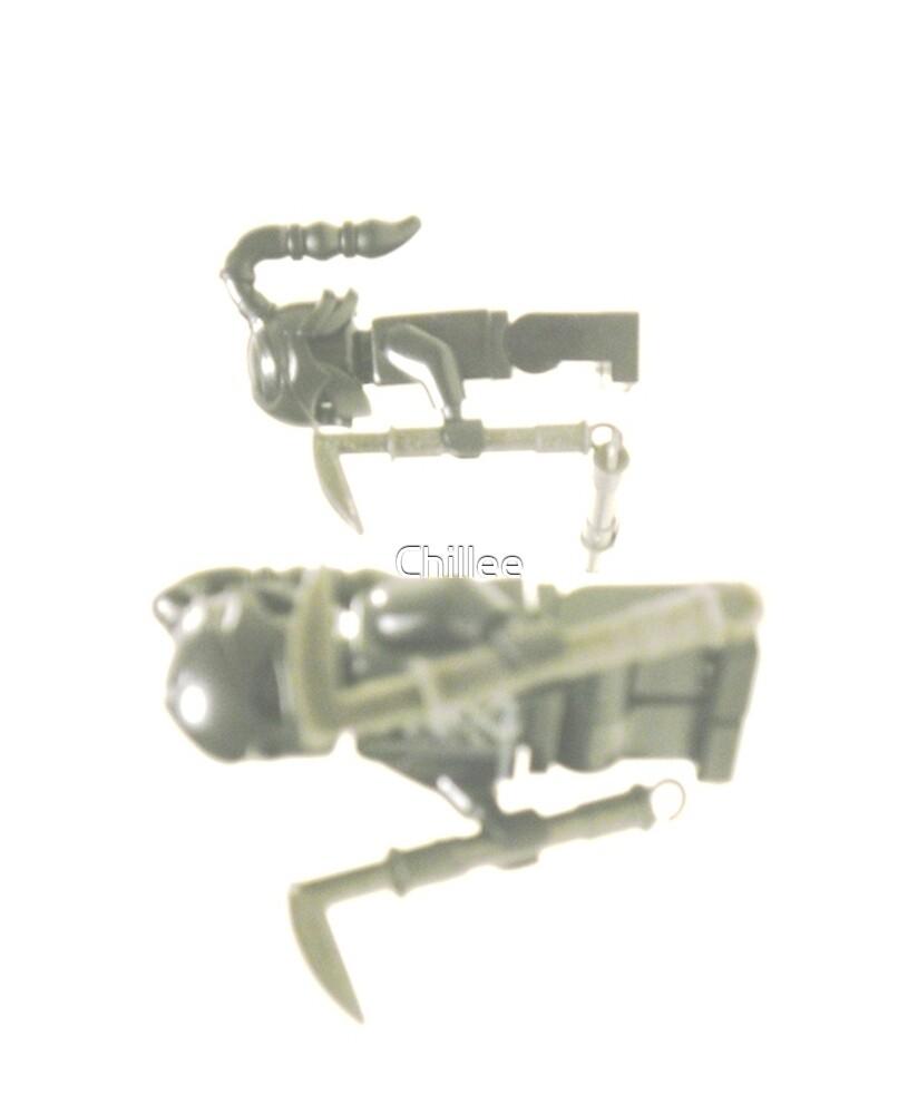 Custom Black Shadow Assassin Minifigure by Customize My Minifig