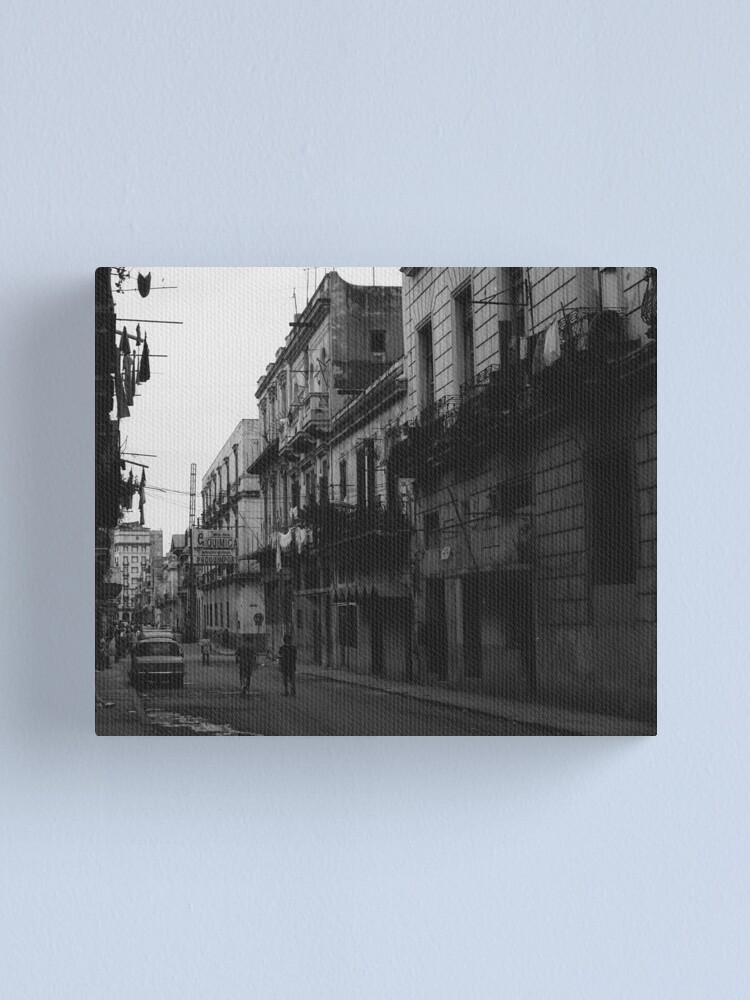 Alternate view of Havana Cuba Series - Street Scene Canvas Print