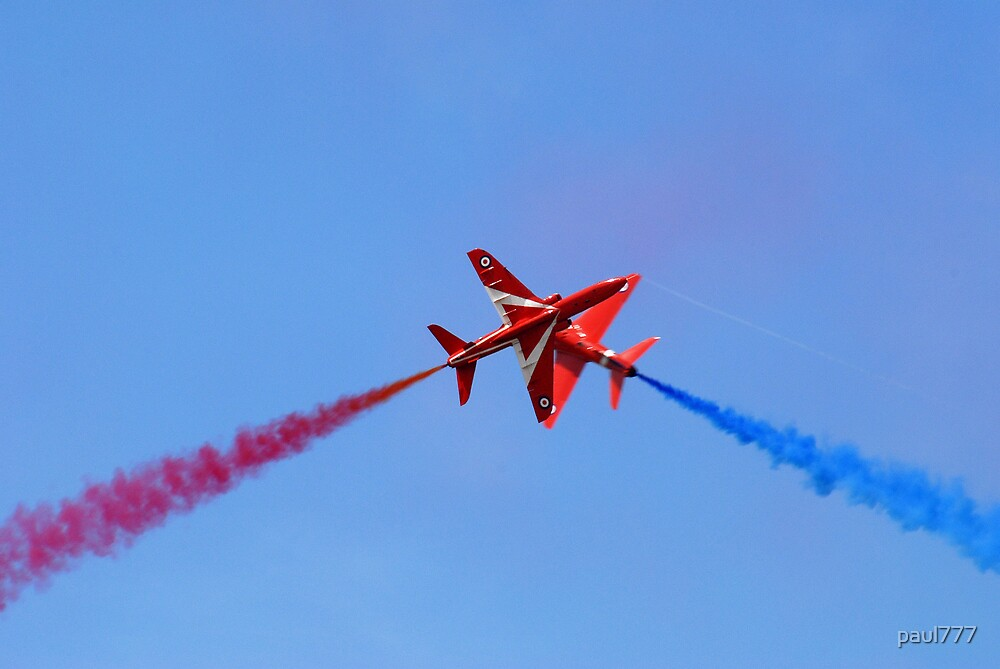 red arrows (fairford air show) by paul777