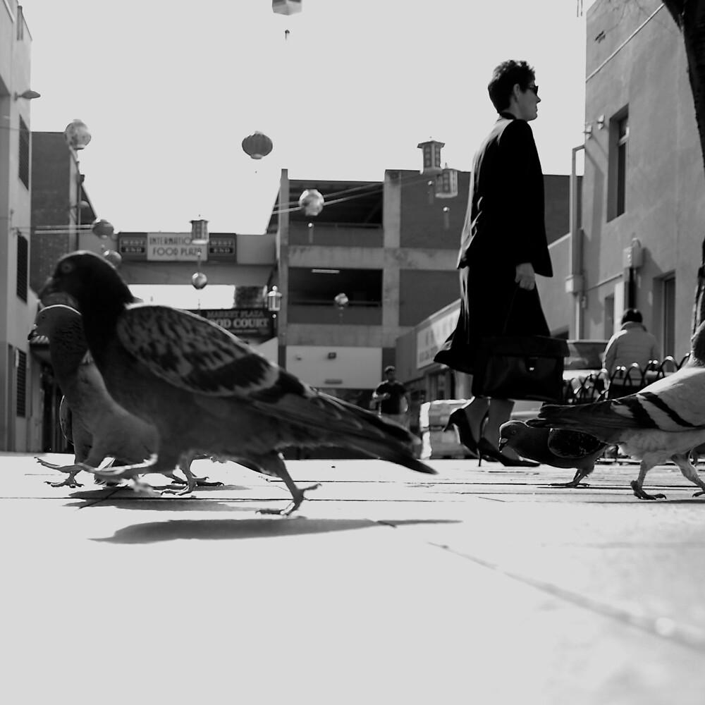 Pedestrians by Fiona  Braendler
