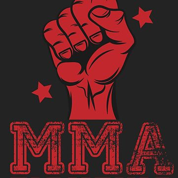 MMA Fighting Art by Fmgt