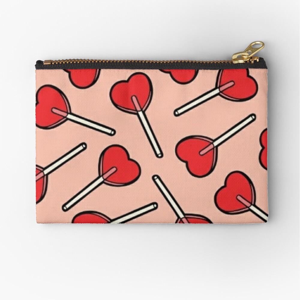 Lollipop Hearts/Lolita Aesthetic Zipper Pouch