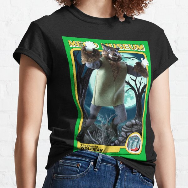 Mego Mad Monsters: The Wolfman 2 MegoMuseum  Classic T-Shirt