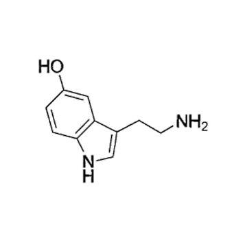 Molécula de Serotonina de annmariestowe