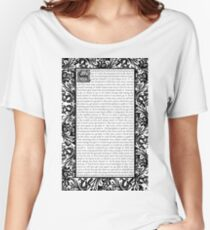 All Star by Smash Mouth - William Morris Inspired Women's Relaxed Fit T-Shirt