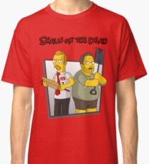 Shaun of the Dead - Simpsons Style! Classic T-Shirt