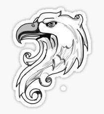 vintage eagle, aguila vintage Sticker