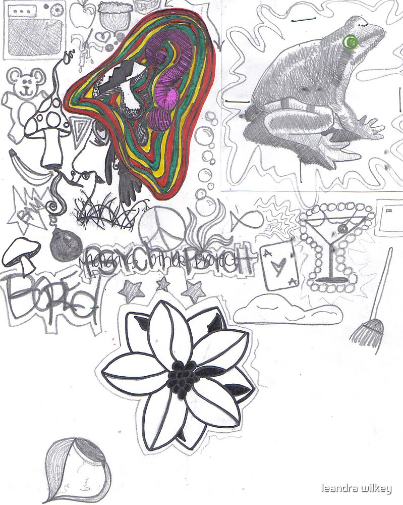 doodles by leandra wilkey