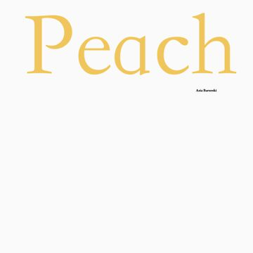 Peach by abarsoski
