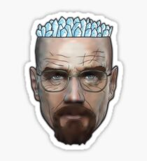 Breaking Bad - Walter White Meth Head Sticker