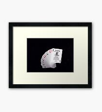 Let's Play a Game Framed Print