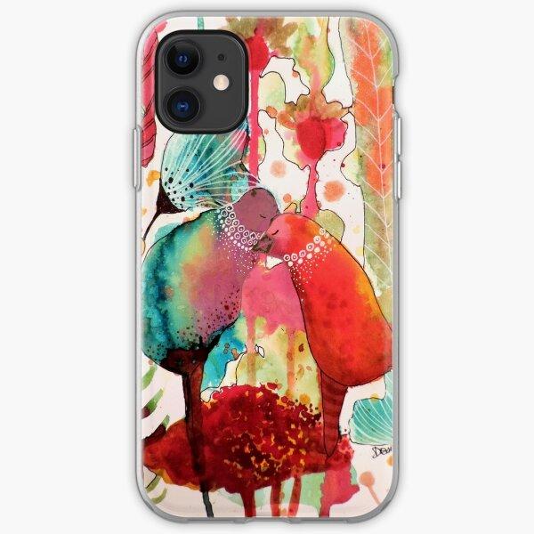 les mots doux iPhone Soft Case