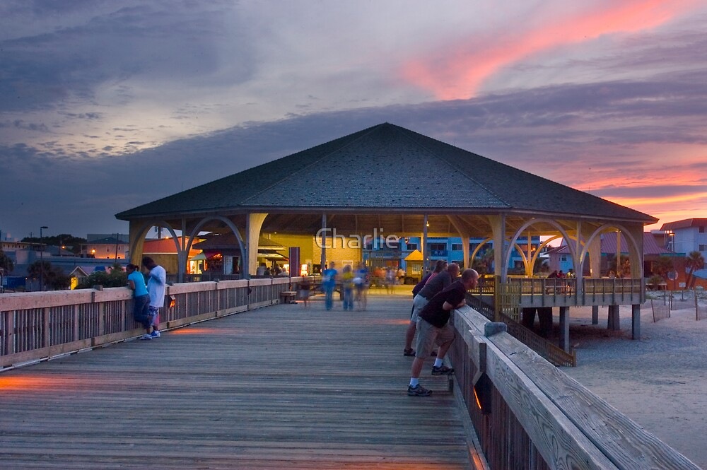 Tybee Pavillion by Charlie