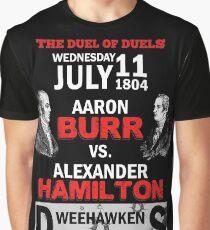 Hamilton Vs Burr Graphic T-Shirt