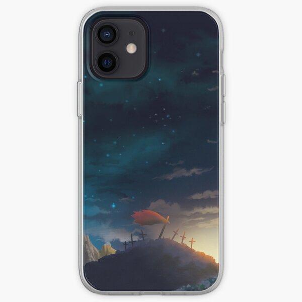 Gurren Lagann Kamina Memorial iPhone Soft Case