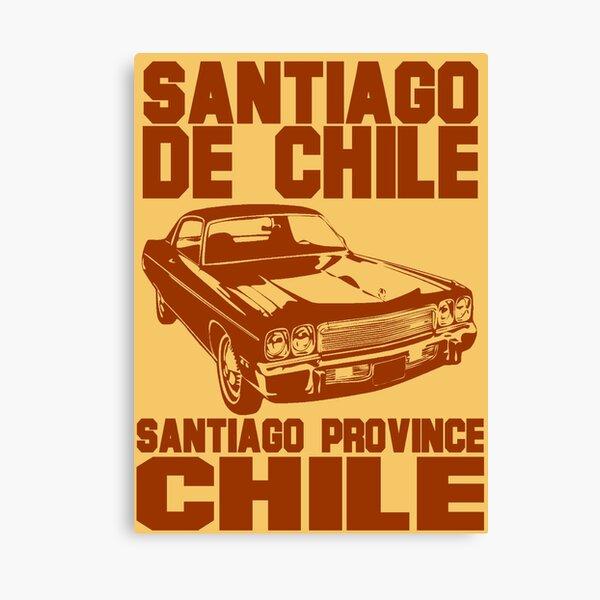 Santiago de Chile-Car 2 Canvas Print