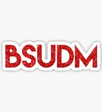 ball state university dance marathon - BSUDM Sticker