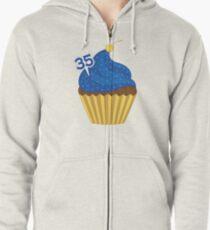 Cupcake Zipped Hoodie