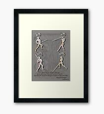 Liechtenauer Guards from Von Danzig Poster Framed Print