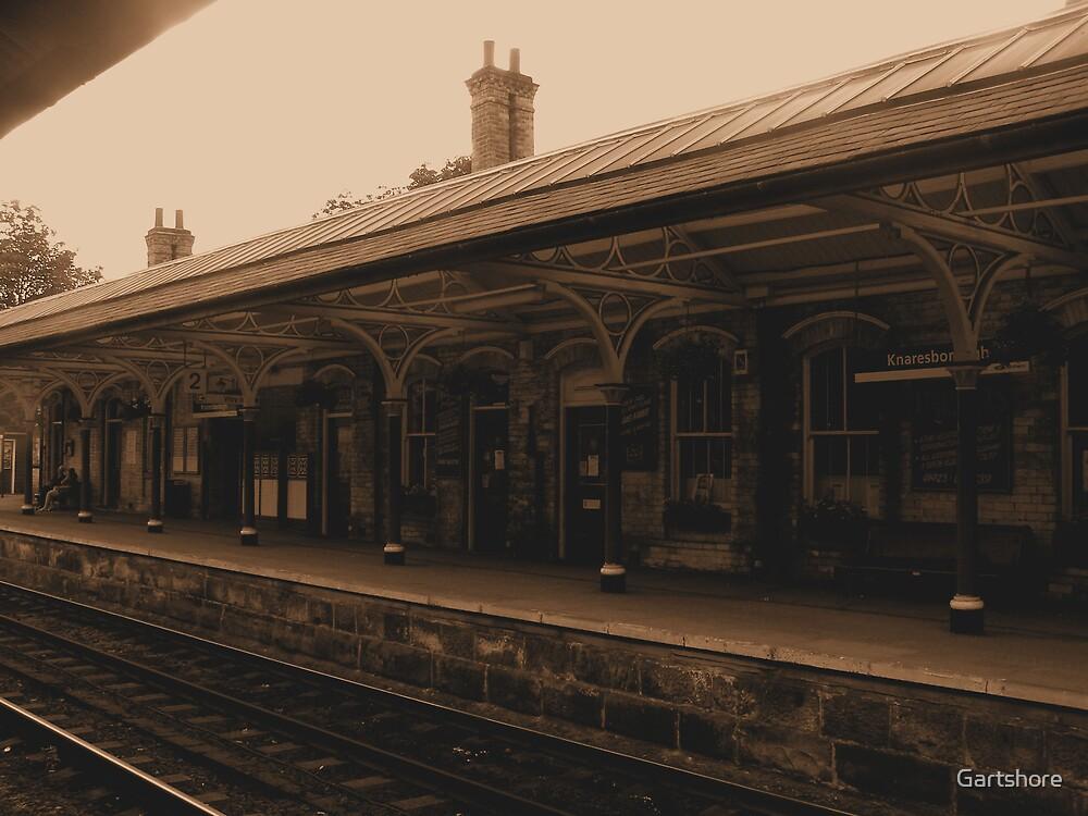 Train station by Gartshore