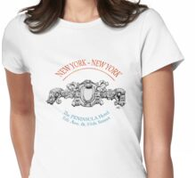 NYC building details 2 Womens Fitted T-Shirt