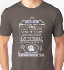 Wibbly Wobbly Racey Wacey Stuff Unisex T-Shirt