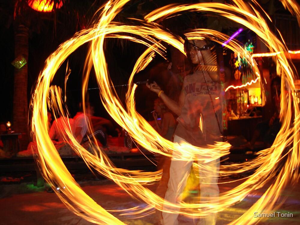Flames by Samuel Tonin